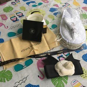 Plastic Chanel box and +++!